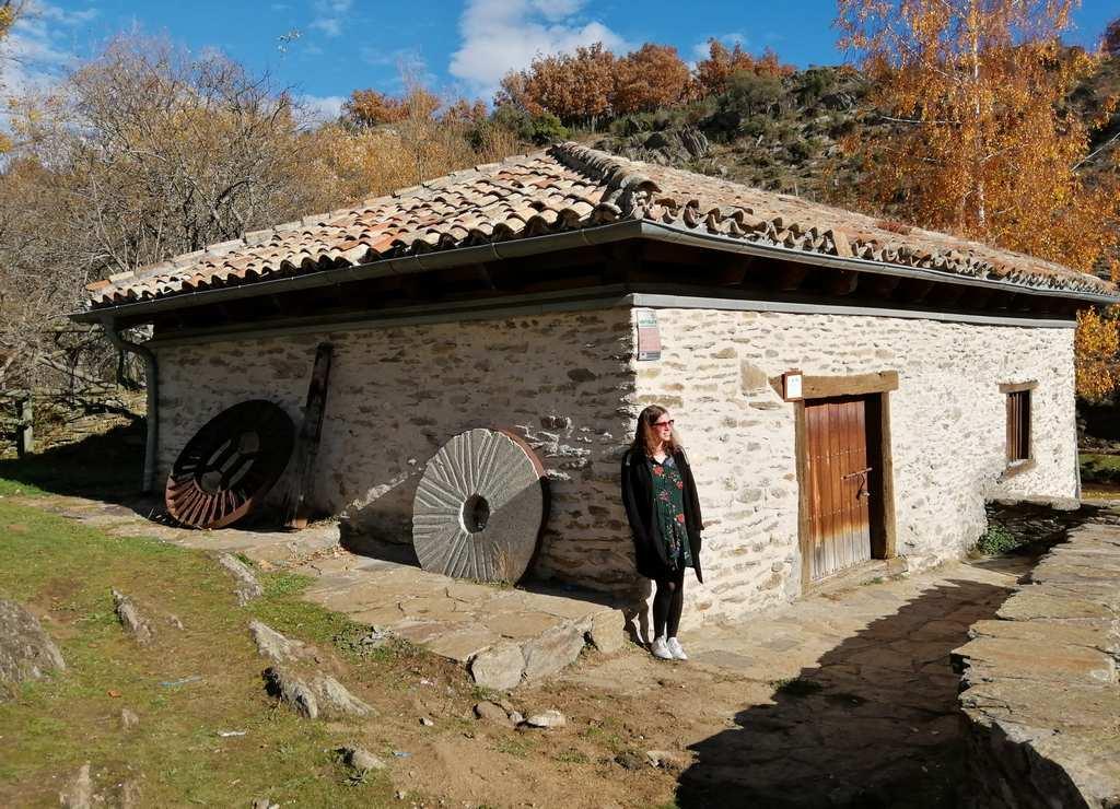 El molino harinero forma parte de la senda 'Los oficios de la vida'.