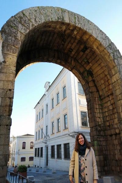 El Arco de Trajano era la puerta de acceso a la ciudad en la época de Tiberio.