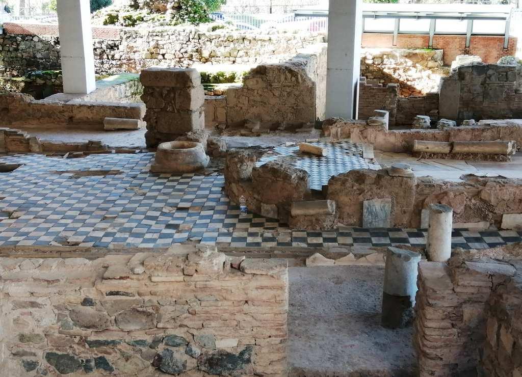 En el área de Morería se han podido identificar trece grandes viviendas de la época romana.