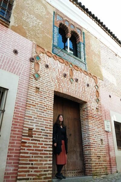 Un sitio que ver en Zafra por su fachada mudéjar es la Casa del Aljimez.