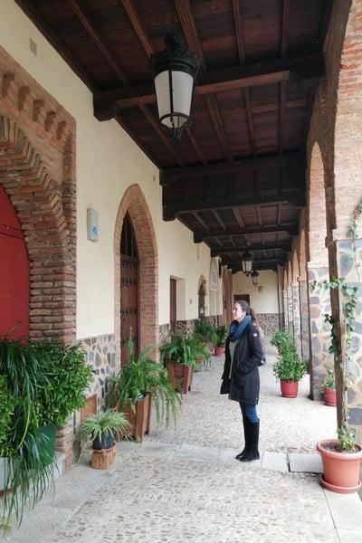 La Galería Mudéjar es uno de los sitios que más me impresionaron de Guadalupe.