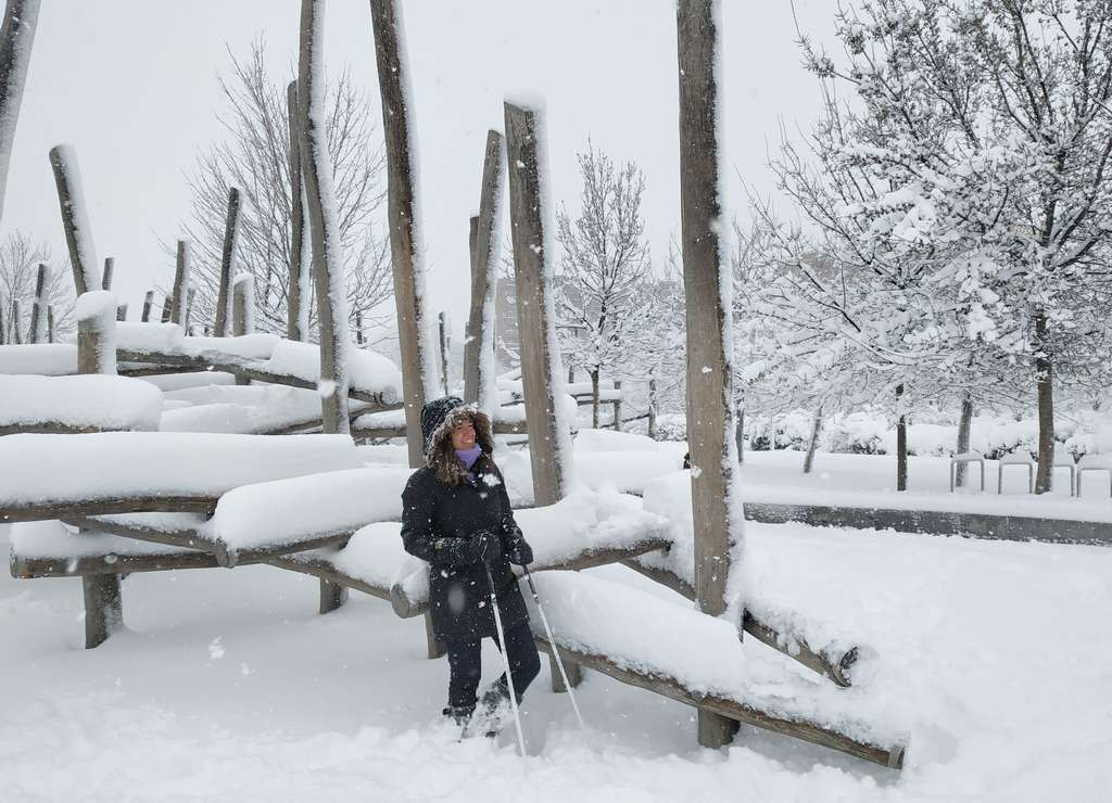 Muchos no nos esperábamos que la nevada del siglo fuese a ser tan impresionante.