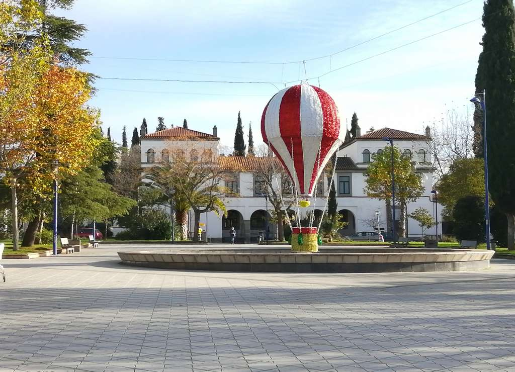 Qué ver en Zafra en un día: Plaza de España.