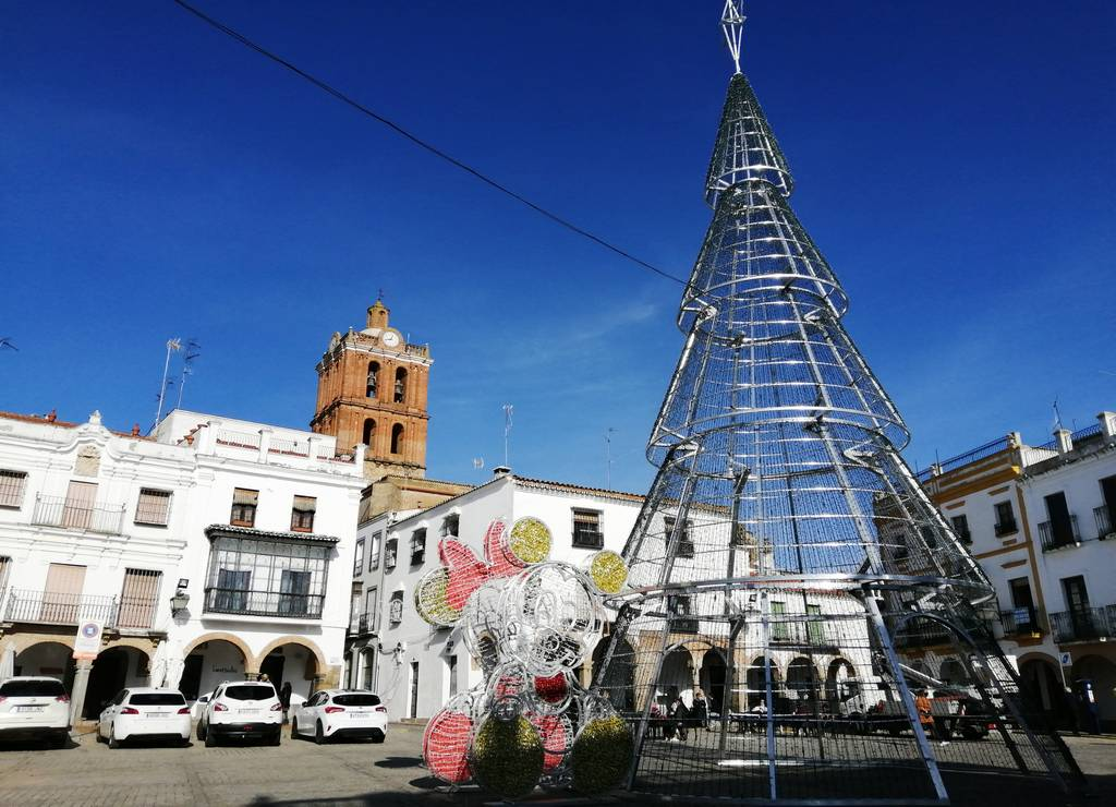 Qué ver en Zafra en un día: Plaza Grande.