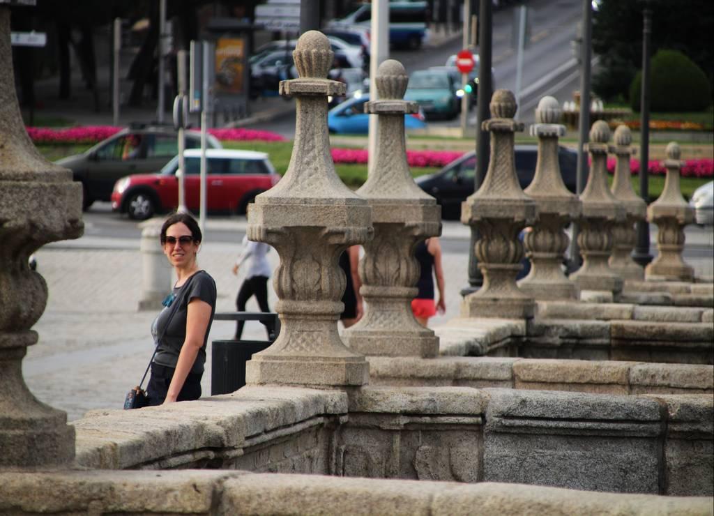 El Puente de Toledo es uno de los más monumentales de este parque.