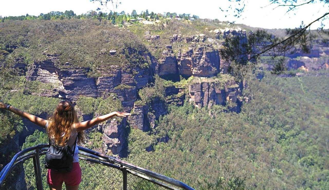 Una de las cosas que más me gustan de viajar al extranjero es descubrir naturaleza salvaje como las Blue Mountains en Australia.