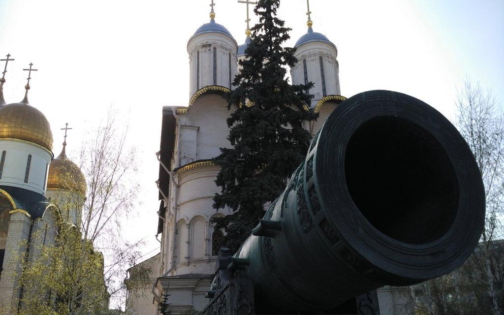 El Cañón del Zar es el cañón con más calibre del mundo.