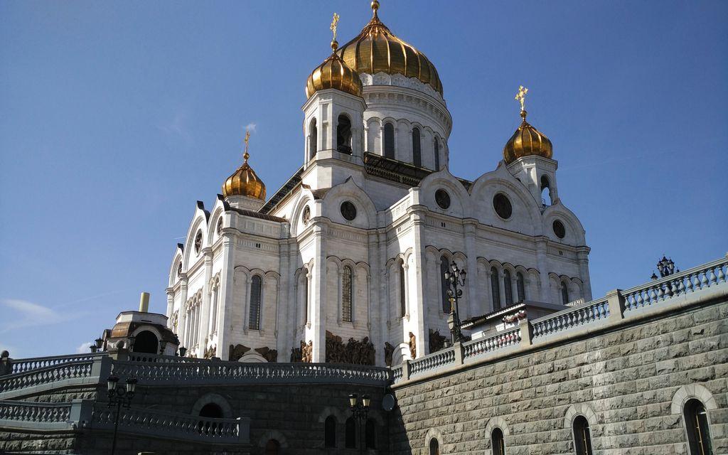 La Catedral de Cristo El Salvador es la más importante que ver en Moscú.
