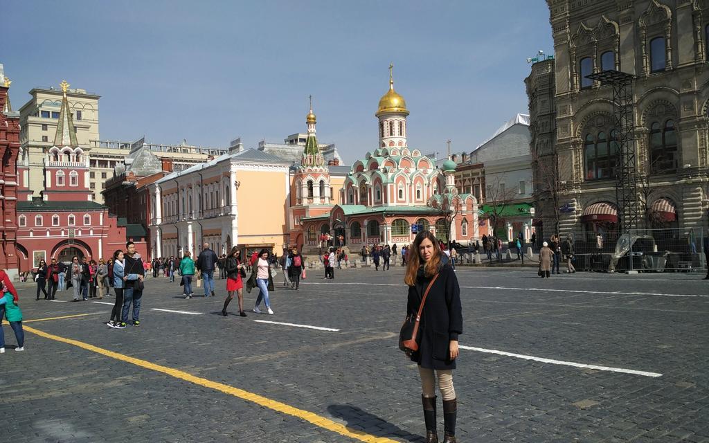 La Catedral de Kazán es otro de los sitios más emblemáticos de la Plaza Roja.