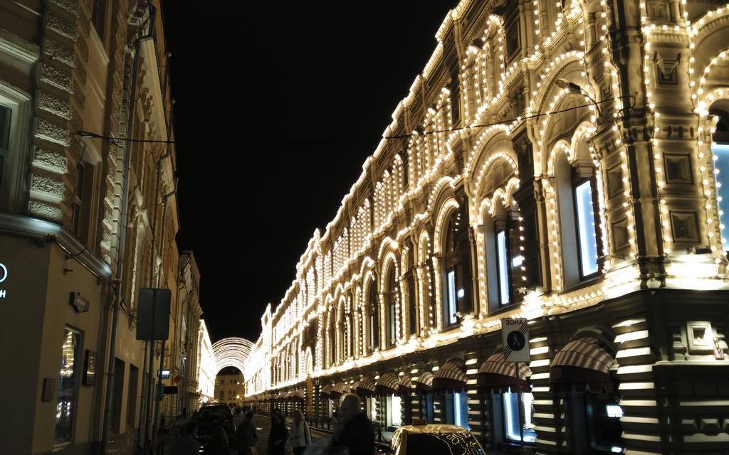 Las galerías GUM son un centro comercial con tiendas de diseñadores de lujo.