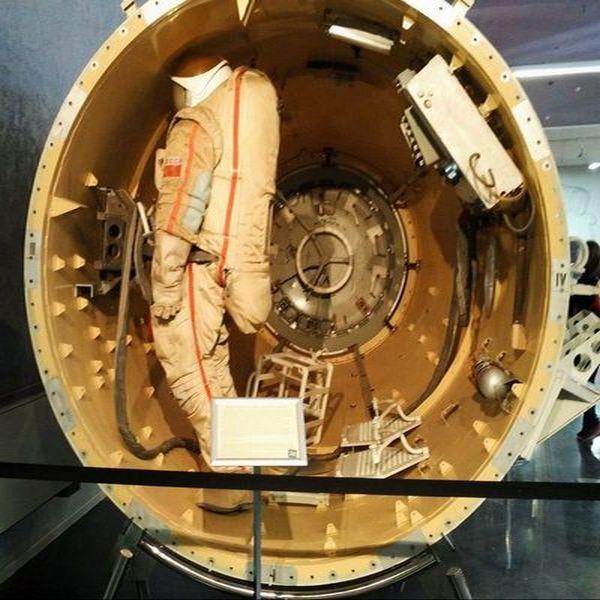 El museo que más me impresionó en Moscú es el de la Cosmonáutica.
