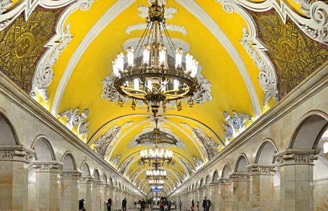Las 12 mejores estaciones de metro de Moscú