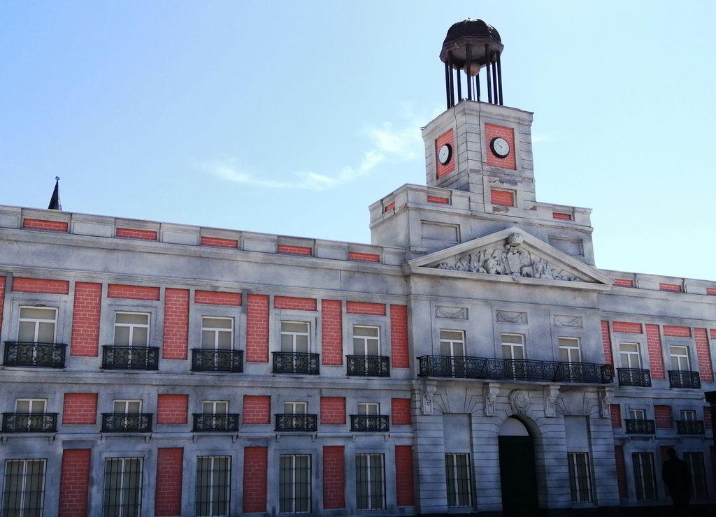 En este parque madrileño puedes ver la representación de la Plaza Mayor de cualquier municipio español.