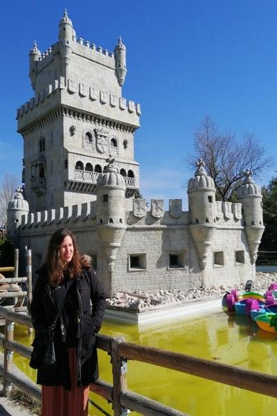 La Torre de Belém de Lisboa es otro de los monumentos que verás en el Parque Europa de Madrid.