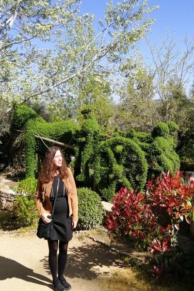 En el Bosque Encantado de San Martín de Valdeiglesias verás más de 300 esculturas hechas con plantas.