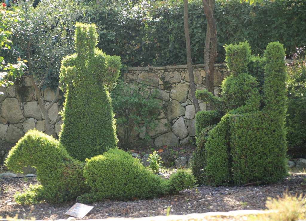 Escultura del Rey y la Reina muy lograda.