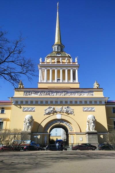 En tu itinerario por San Petersburgo en 3 ó 4 días no olvides incluir el Almirantazgo.