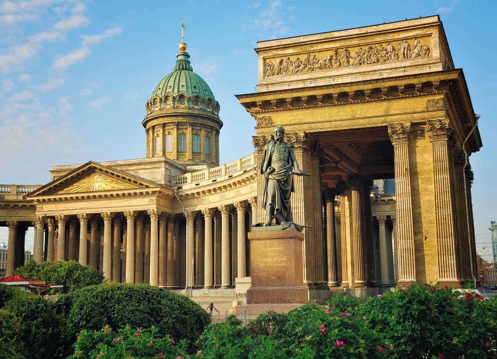 La Catedral de Kazán es una de mis preferidas por su arquitectura con 96 columnas.