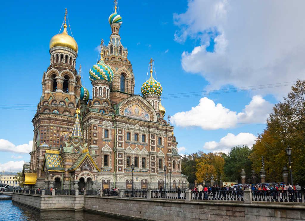 Qué ver en San Petersburgo en 3 ó 4 días: Iglesia de San Salvador sobre la Sangre Derramada.