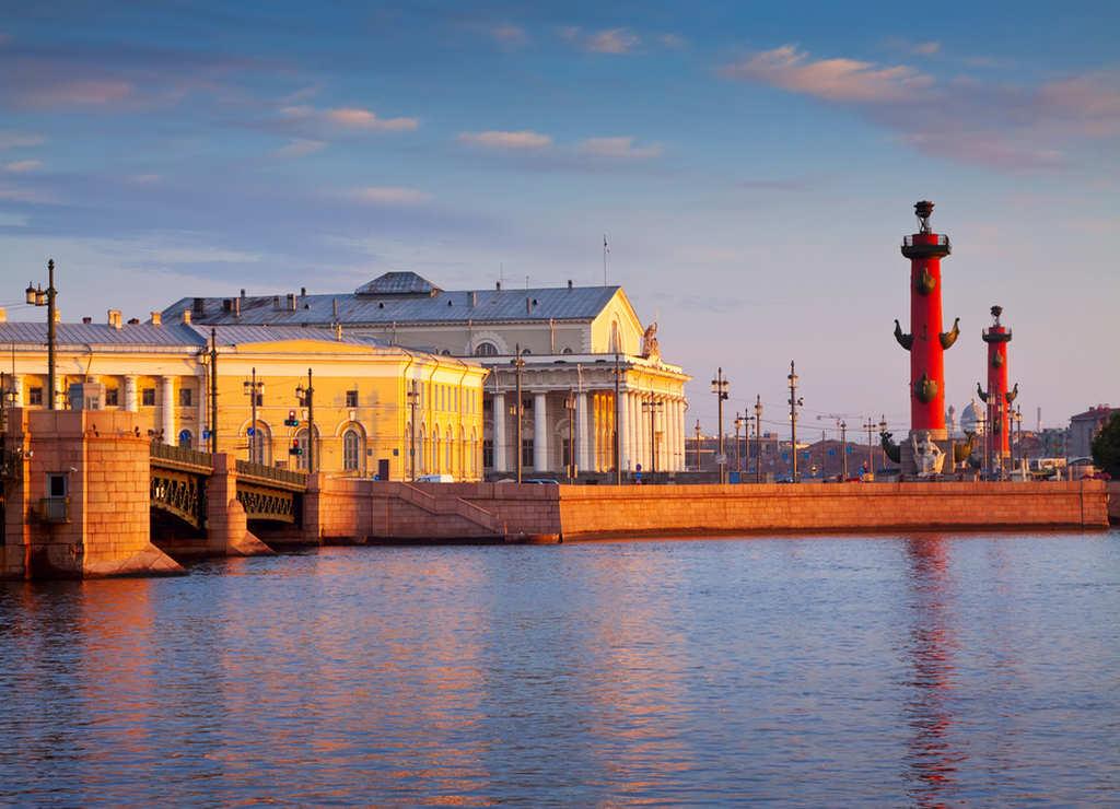 San Petersburgo es una ciudad muy agradable por sus canales, islas y puentes.