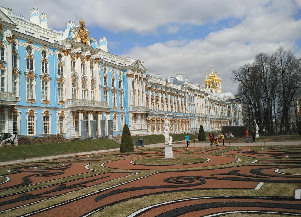 Qué ver en San Petersburgo en 3 ó 4 días: Palacio de Catalina la Grande.