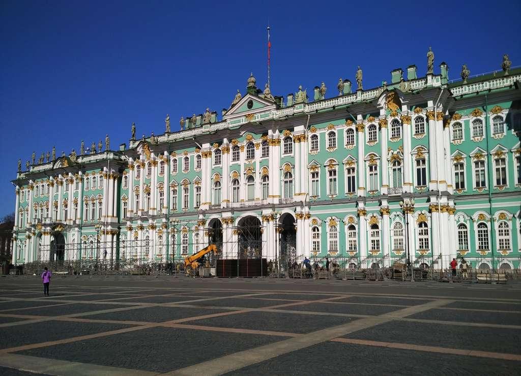 El Palacio de Invierno fue la residencia oficial de los zares rusos.