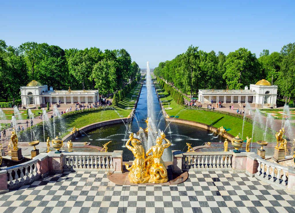 El Palacio de Peterhof es uno de los imprescindibles que ver en San Petersburgo en 3 ó 4 días.