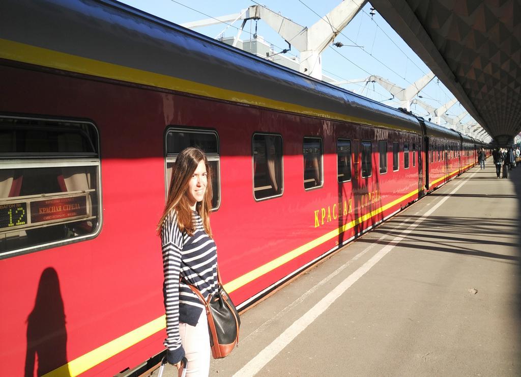 Yo fui de Moscú a San Petersburgo en tren nocturno, más concretamente en el Flecha Roja.