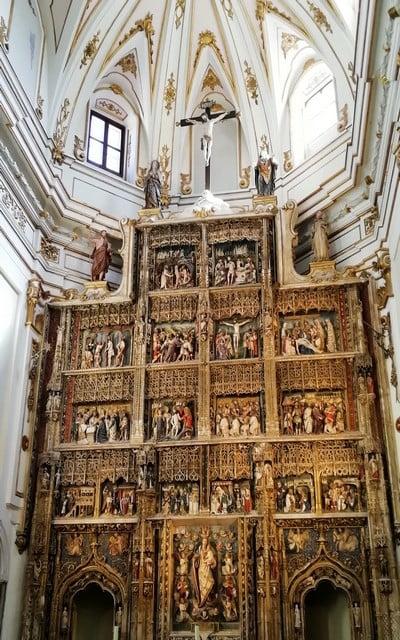 El Retablo Mayor de la iglesia del Monasterio del Paular es una auténtica joya.