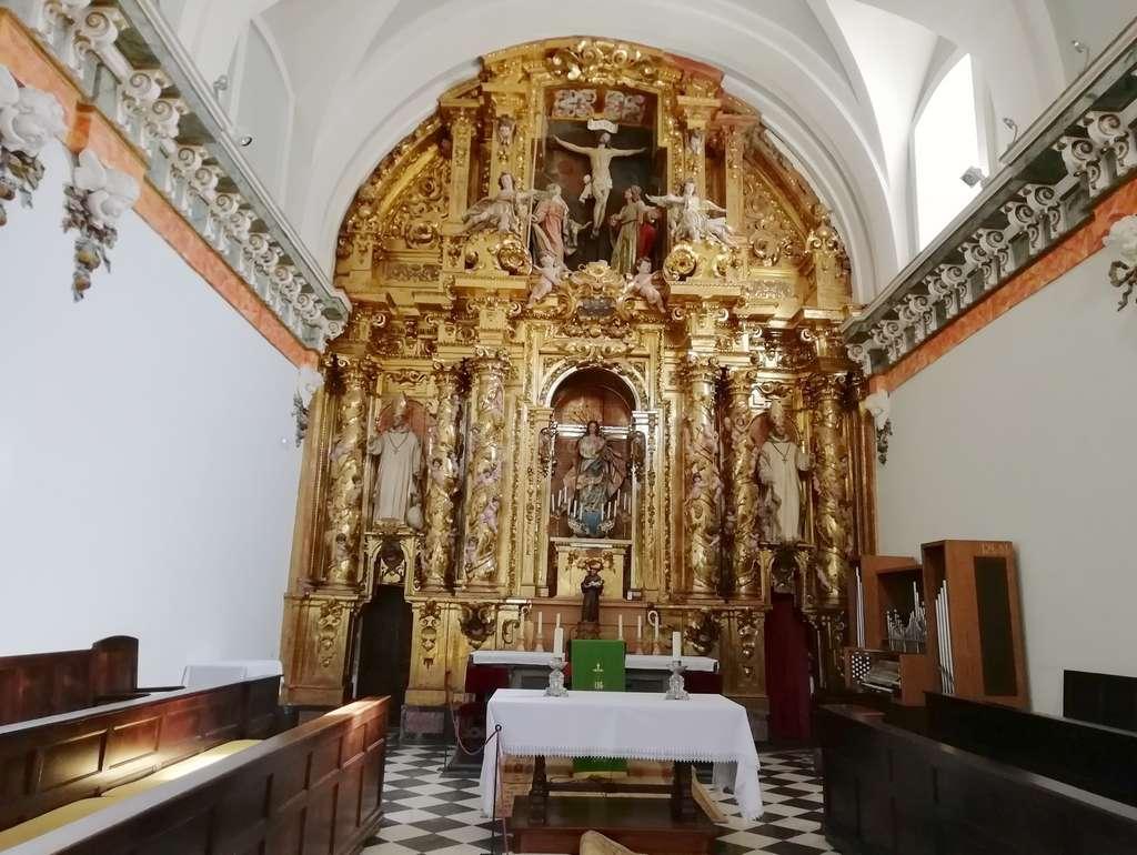 La Sala Capitular es otro de los sitios más llamativos del monasterio.