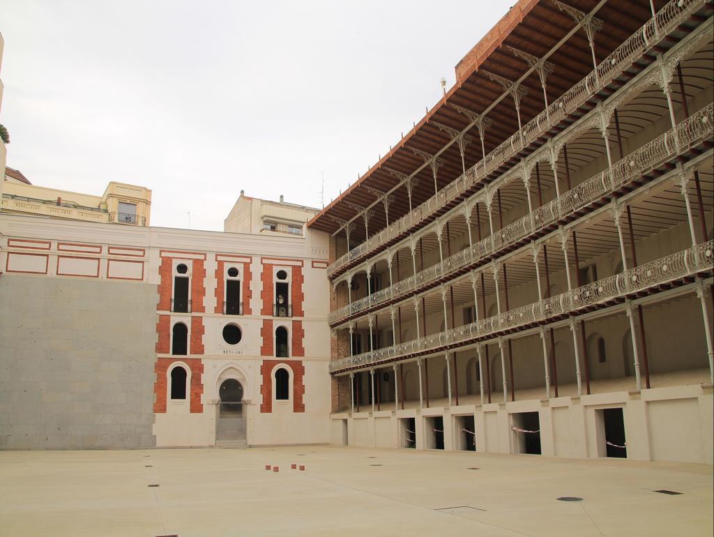 El frontón Beti Jai es el único que queda en Madrid de los 30 que hubo a finales del siglo XIX.