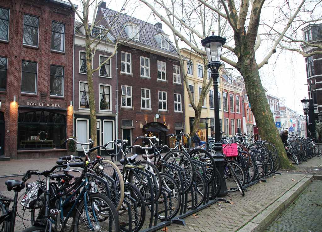 Dicen que en esta ciudad hay más bicicletas que personas y parece que están en lo cierto, ¿no?