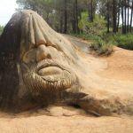 Ruta de las Caras de Buendía: esculturas que parecen cobrar vida