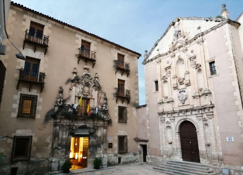 El Convento de la Merced es uno de los edificios religiosos que tienes que ver en Cuenca.