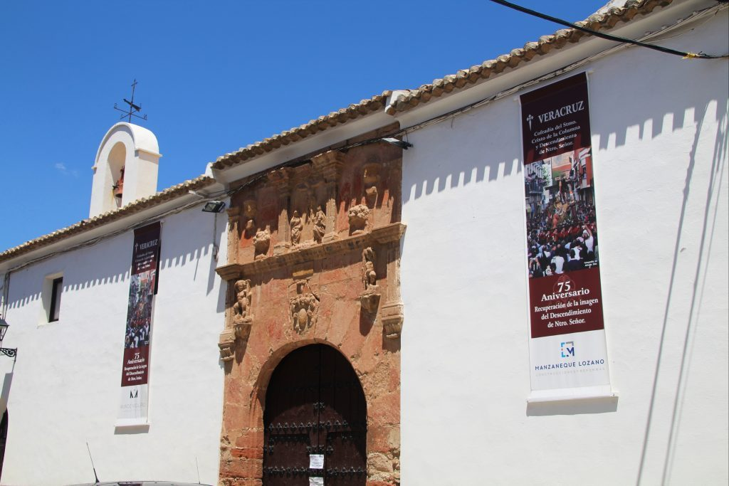 En Campo de Criptana hay varias ermitas y mi favorita es la de la Veracruz.