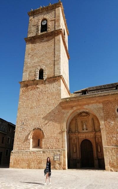 La Iglesia de San Antonio Abad es una de las joyas arquitectónicas que ver en El Toboso.