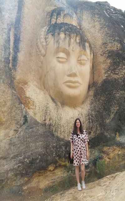 En este recorrido también podrás ver a Maitreya, el próximo dios Buda histórico.