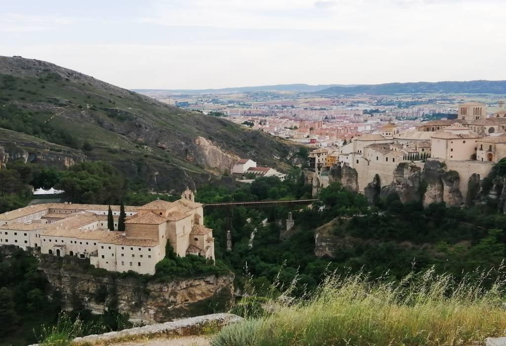 ¿Te imaginas desayunar en el Parador de Cuenca con semejantes vistas a tu alrededor?