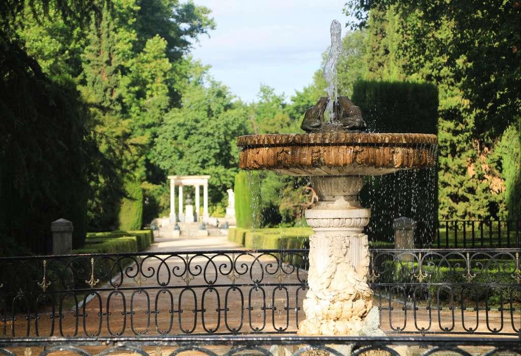 El parque de El Capricho solo abre los fines de semana y festivos.