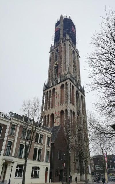 Las mejores vistas panorámicas de Utrecht las tienes desde la Torre Dom.