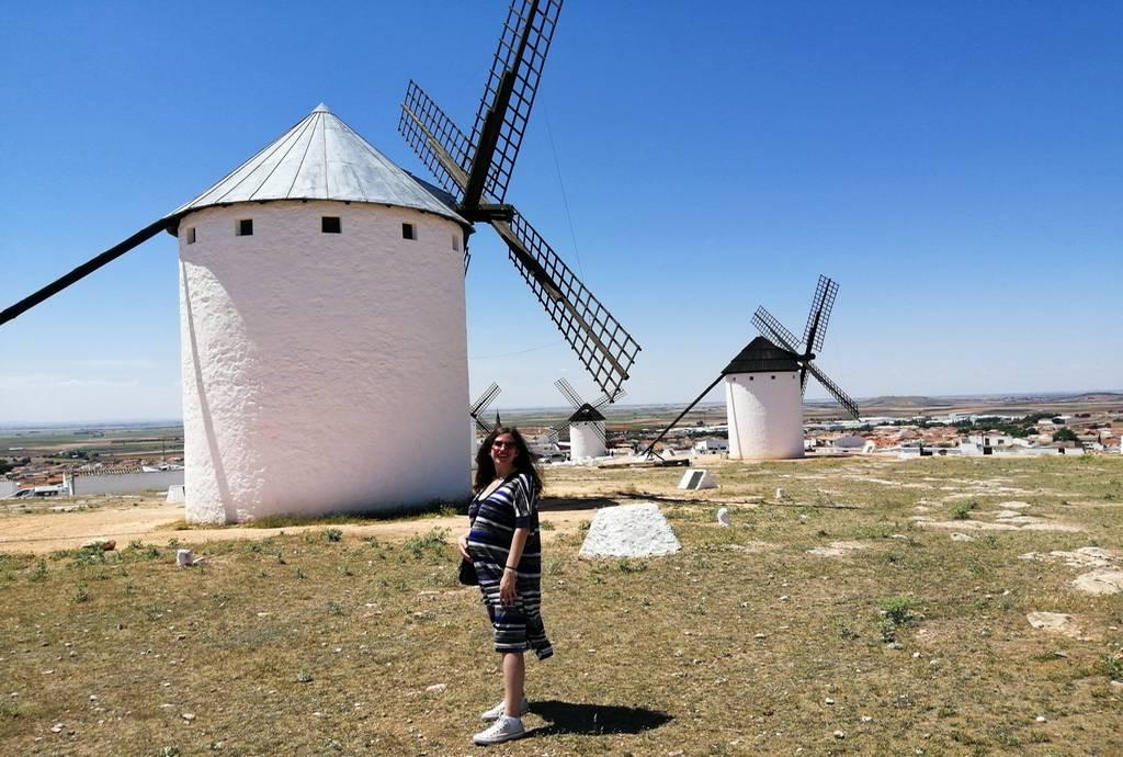 Los molinos de viento de Campo de Criptana son una estampa típica de la literatura cervantina.