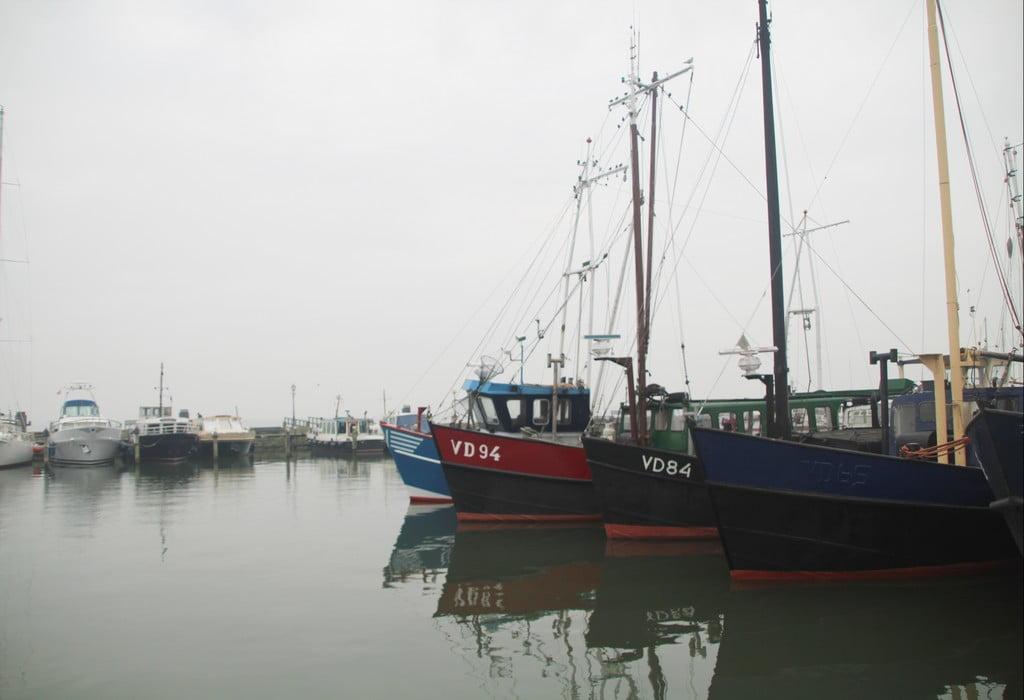 El puerto de Volendam durante mi excursión a Edam, Volendam y Marken desde Ámsterdam.