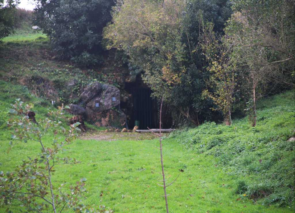Entrada a la Cueva de Altamira original, a la que puedes acceder por sorteo.