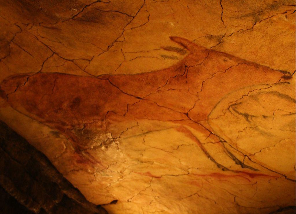 Las pinturas de la Neocueva, la réplica de la Cueva de Altamira original, están muy logradas.