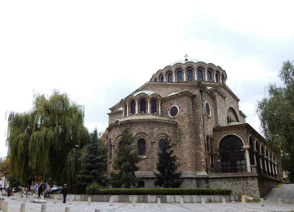 La Catedral de Sveta-Nedelya sufrió un atentado en el año 1925.