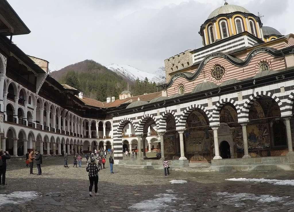 El Monasterio de Rila fue declarado Patrimonio de la Humanidad en 1983.