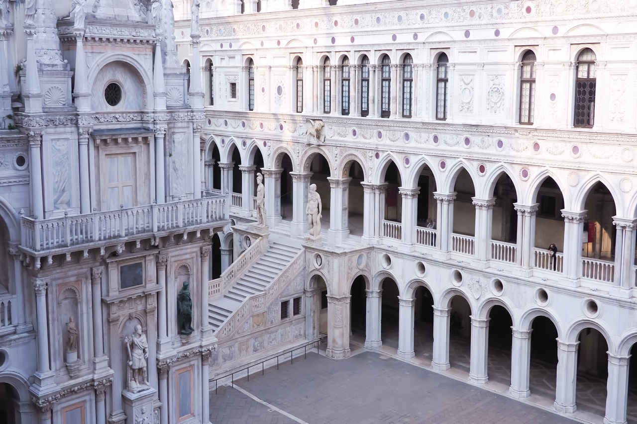 El Palacio Ducal es uno de los edificios más visitados y fue residencia de los dux.
