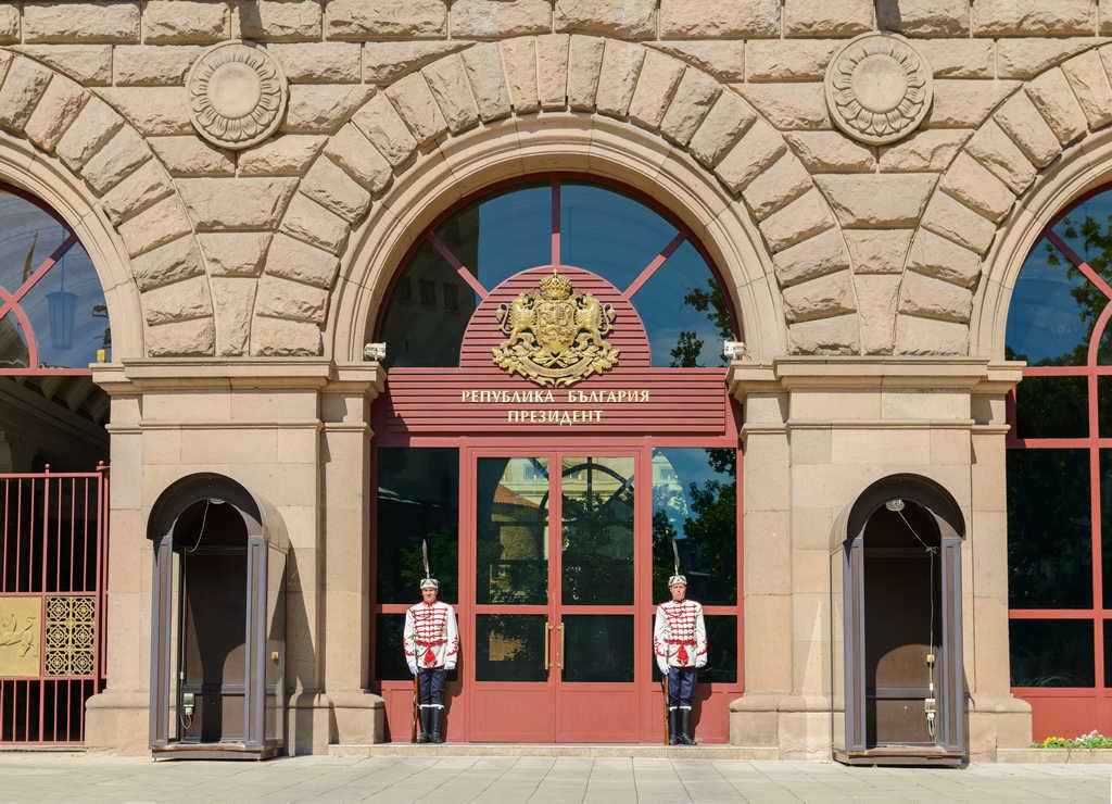 Qué ver en Sofía en dos días: cambio de guardia en el Palacio Presidencial.