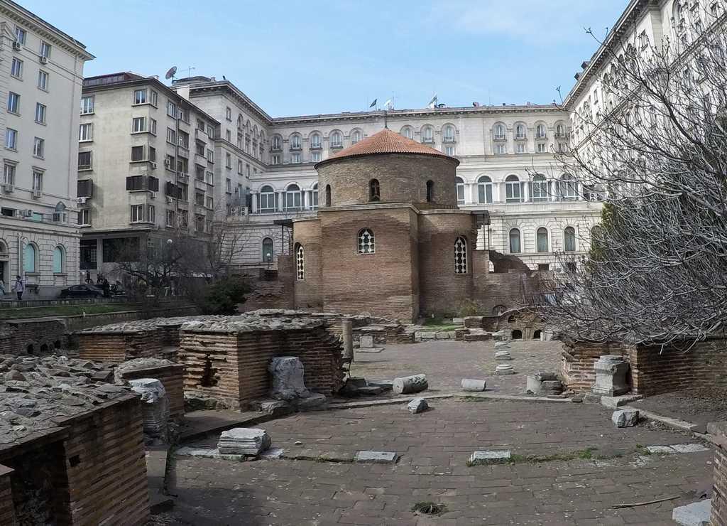 Uno de los sitios que tienes que ver en Sofía en dos días es la Rotonda de San Jorge.